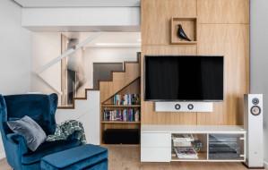 Wnętrze w stylu... mid-century modern