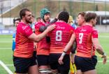 Rugby. Sparta - Ogniwo 12:32, Orkan - Lechia 29:29, Arka - Juvenia 26:47