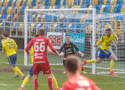 Arka Gdynia - Odra Opole 1:1. Daniel Kajzer i Adam Danch uratowali punkt