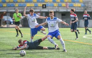 Bałtyk Gdynia - Polonia Środa Wlkp. 0:1. Nie tylko piłkarskie emocje w końcówce