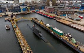 Okręt podwodny ORP Bielik kończy służbę