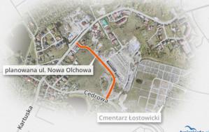 Nowa Olchowa wreszcie zapewni bezpieczny dojazd do Kartuskiej