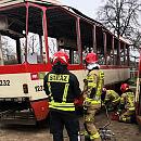 Wycofane tramwaje z Gdańska poszły na służbę do strażaków z Torunia
