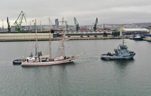 Okręt ORP Iskra gotowy do sezonu
