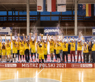 VBW Arka Gdynia - CCC Polkowice 97:69. Koszykarki mistrzyniami Polski
