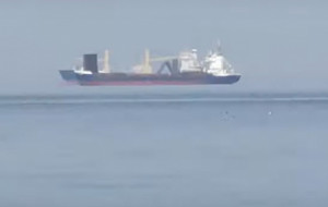 """""""Lewitujące"""" statki na Zatoce Gdańskiej"""