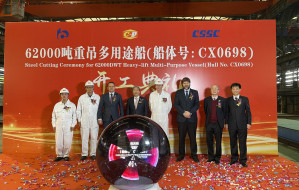Państwowy Chipolbrok buduje statki w Chinach