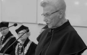 Zmarła Janina Suchorzewska, prof. GUMedu