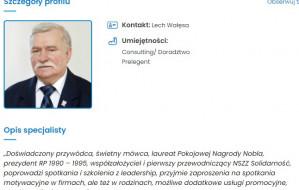 """Lech Wałęsa mówi """"nie"""" tygodnikowi """"Nie"""""""