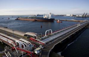 Mniej rosyjskiej ropy płynie przez Naftoport