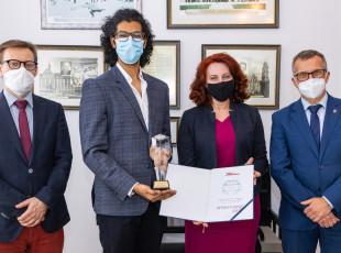 Najlepszy student zagraniczny uczy się w Gdańskim Uniwersytecie Medycznym