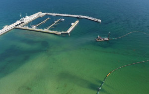 Molo w Sopocie. Pogłębianie dna do maja. Od czerwca rozbudowa mariny