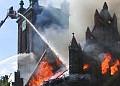 Pożar św. Katarzyny - minęły już dwa lata
