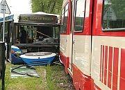 Gdański Dortmund zniszczony w Krakowie
