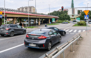 Tristar na kolejnych skrzyżowaniach Gdyni