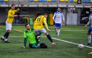 Bałtyk Gdynia - Radunia Stężyca 3:6. Szalony mecz z liderem III ligi