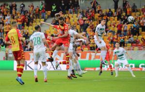 Jagiellonia Białystok - Lechia Gdańsk 2:1. Zaledwie 7. miejsce na koniec sezonu