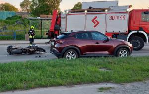 Śmiertelny wypadek motocyklisty w Gdańsku