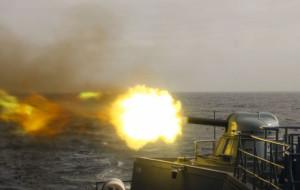 Wojskowe manewry na Zatoce Gdańskiej