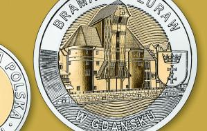 Wielki Żuraw na nowej 5-złotówce