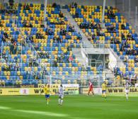 Arka Gdynia - Widzew Łódź. Z kibicami lepsze wyniki niż przy pustych trybunach
