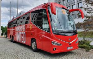 Piłkarze Manchesteru United są już w Gdańsku