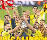 Finał Ligi Europy. Zagraniczne media o meczu Villarreal - Manchester United