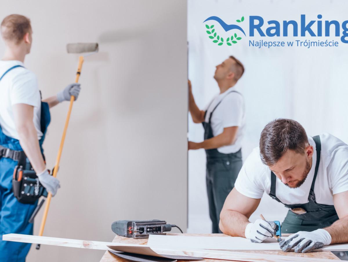 Ranking 2021: najlepsze firmy remontowe i budowlane w Trójmieście