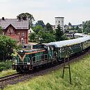 Przejazd pociągiem retro po bajpasie kartuskim