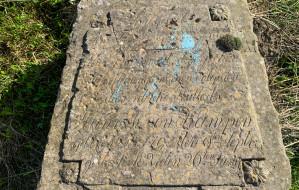 XIX-wieczny nagrobek odnaleziony na Morenie