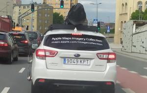 Samochody Apple objeżdżają Trójmiasto