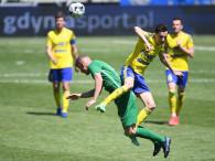 Arka Gdynia - Radomiak 0:2. Żółto-niebiescy o ekstraklasę zagrają w barażach