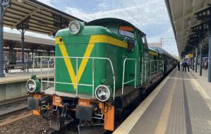 Pociąg retro jeździł po Pomorzu