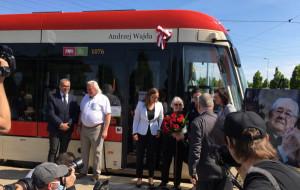 Andrzej Wajda został patronem tramwaju