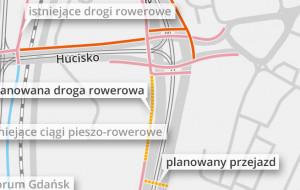Powstanie brakujący odcinek drogi rowerowej w centrum Gdańska