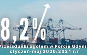 Więcej ropy, paliw i kontenerów. Duży wzrost przeładunków w Porcie Gdynia