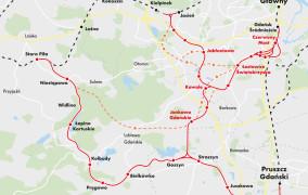Umowa na wytyczenie trasy PKM Południe