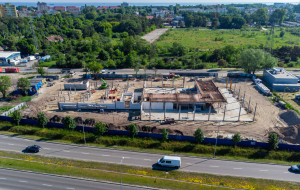 Powstaje nowy salon Volvo Drywa w Gdańsku
