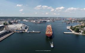 Większe statki wejdą do Portu Gdynia