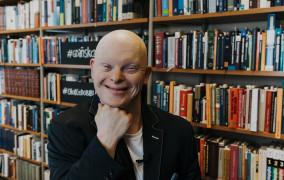 """Michał Milka: Czas na miłość. Po spotkaniu autorskim książki """"Łączę światy"""""""