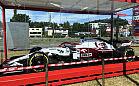 Bolid Formuły 1 zespołu Kubicy w Gdyni