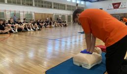 Sportowcy z Trójmiasta uczą się udzielania pierwszej pomocy
