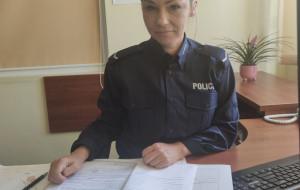 Policjantka odzyskała pamiątki rodzinne okradzionej seniorki