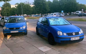 500 zł mandatu za podrobione tablice w VW Polo