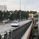 Estakada Kwiatkowskiego przejezdna tylko jednym pasem w każdą ze stron