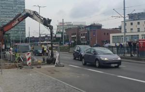 Zamknięty buspas i pas ruchu na Podwalu Grodzkim przez weekend