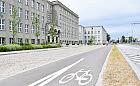 Powstała droga rowerowa przed Uniwersytetem Morskim