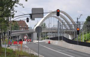 Koniec budowy wiaduktu Biskupia Górka