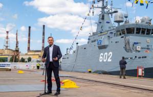Prezydent Andrzej Duda zwiedził Albatrosa