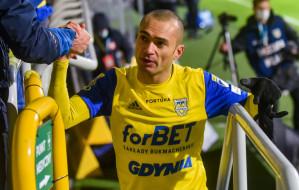 Arka Gdynia. Marcus przedłużył kontrakt. Trzech piłkarzy bez nowych umów